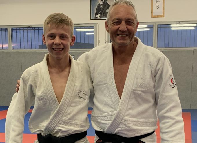 Donovan Seillier 15 ans et Ceinture noire de Judo
