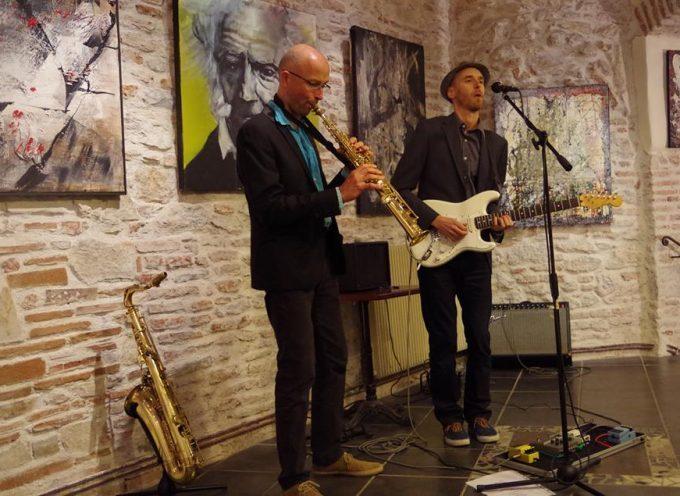 Le Duo Mandiwa en concert à la Halle Gourmande