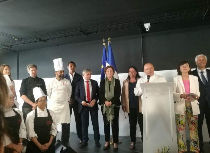 Carole Delga et Muriel Penicaud inaugurent la nouvelle école de Thierry Marx