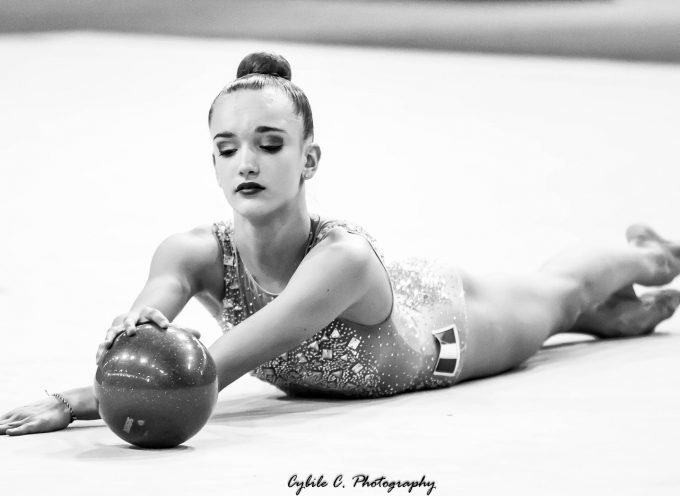 Maëlle Millet va concourir les championnats du monde de gymnastique rythmique