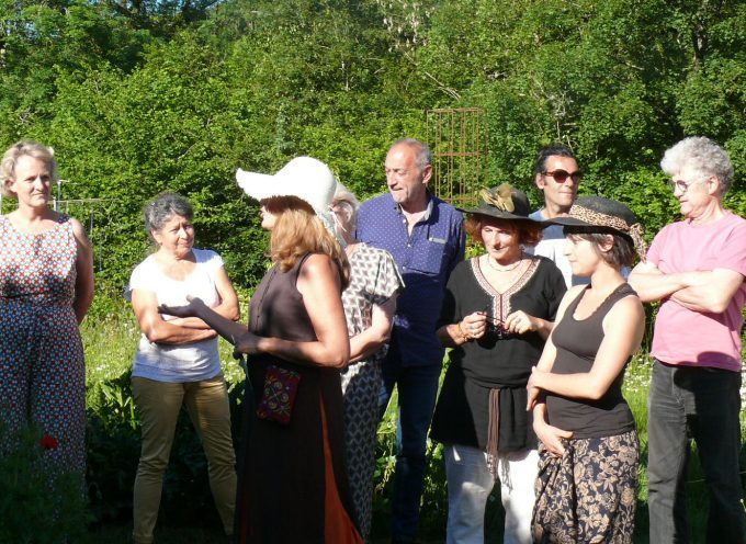 Au jardin du Labyrinthe, une quinzaine d'artistes se sont donnés rendez-vous