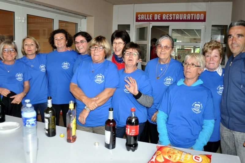La gente féminine, les bénévoles de l'ABC