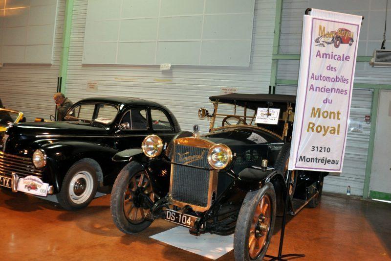 Deux voitures des 3A de Montréjeau