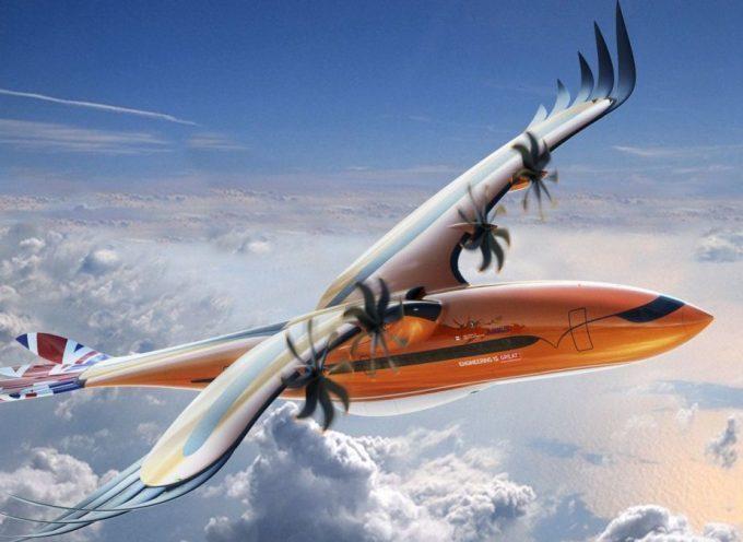 Airbus dévoile son tout nouveau modèle d'avion, en forme d'oiseau: The bird of prey