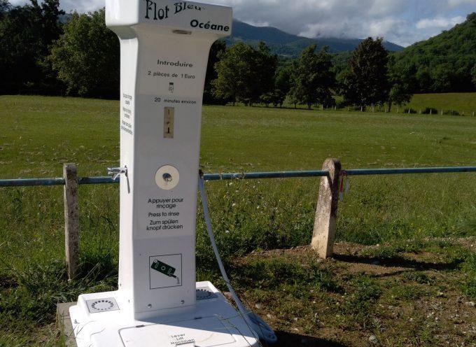 Une nouvelle borne de service pour camping-car à Couret