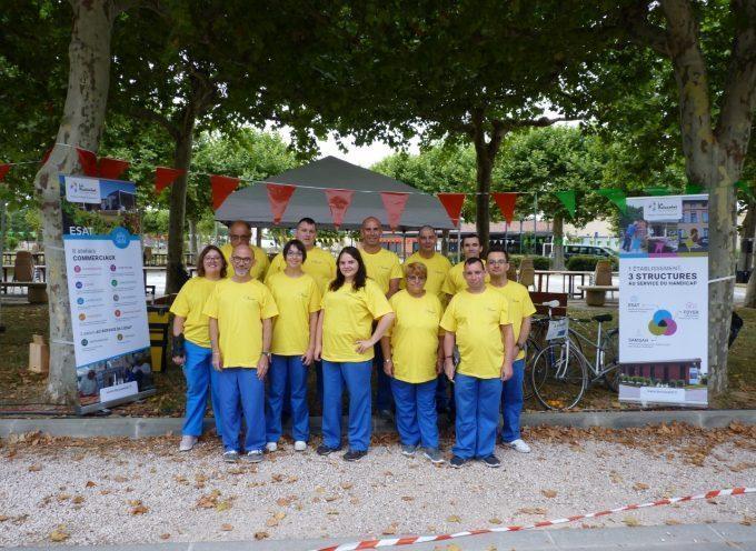 Saint Elix le Chateau : Quand le handicap remporte le maillot jaune sur le tour de France!