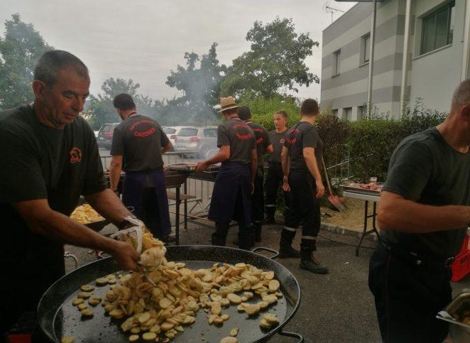 Cazères : Plus de 400 convives au bal des pompiers