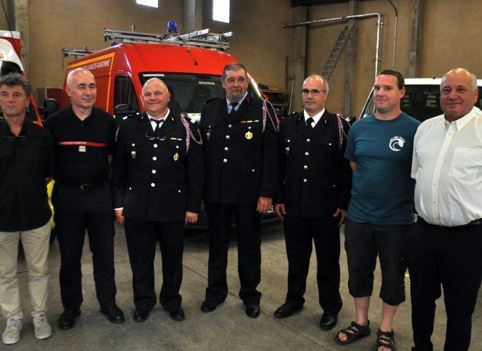 Montréjeau : Départs en vétérance chez les pompiers