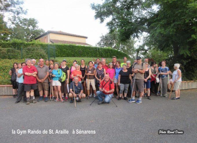 Gym Rando Saint-Araille : La randonnée, rendez-vous de la forme