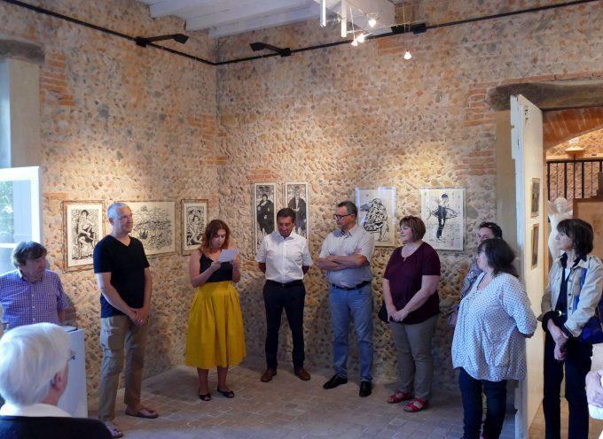 Le musée André Abbal de Carbonne reçoit cet été les œuvres de Matt Roussel
