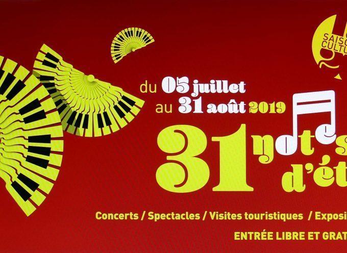 Concert 31 notes d'été fait étape à Carbonne !