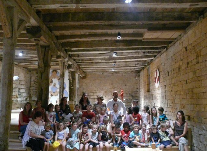 L'avancé du Centre d'Interprétation à l'Abbaye de Bonnefont