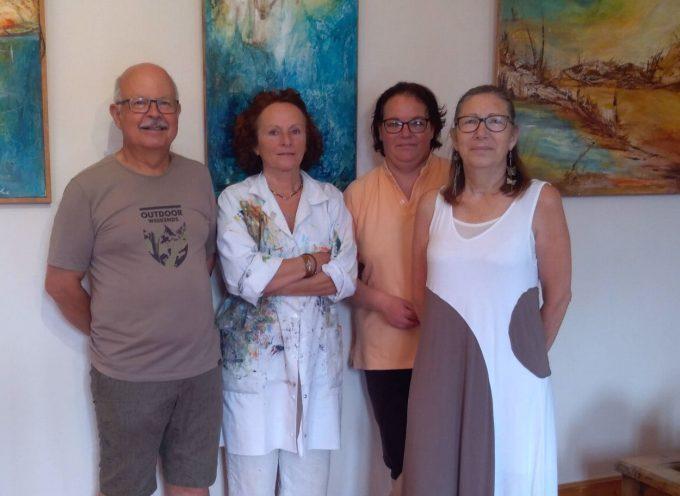 Une exposition estivale à Portet d'Aspet