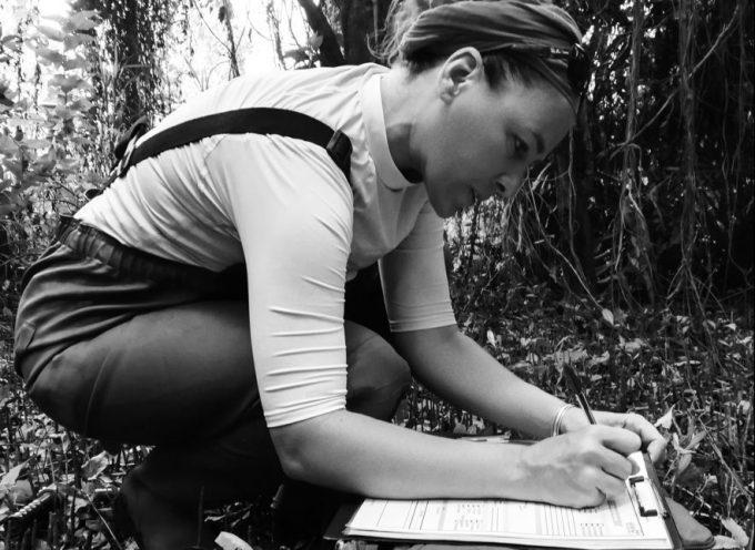 L'écologue Mélanie Herteman en conférence à Cazères