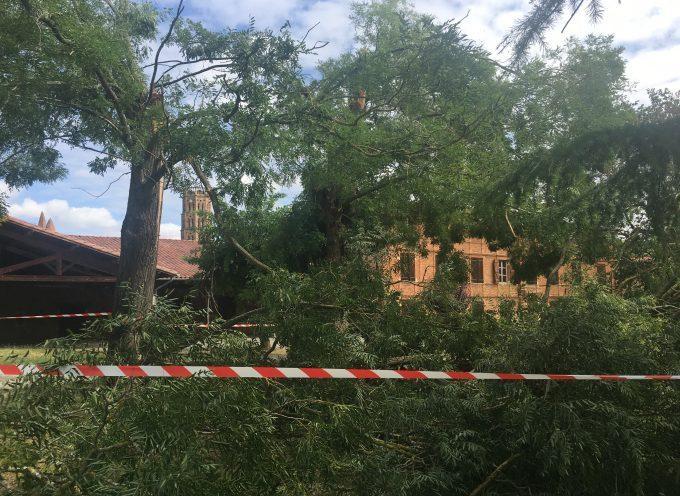 Mini tornade à Rieux Volvestre : Un spectacle de désolation et le pire évité