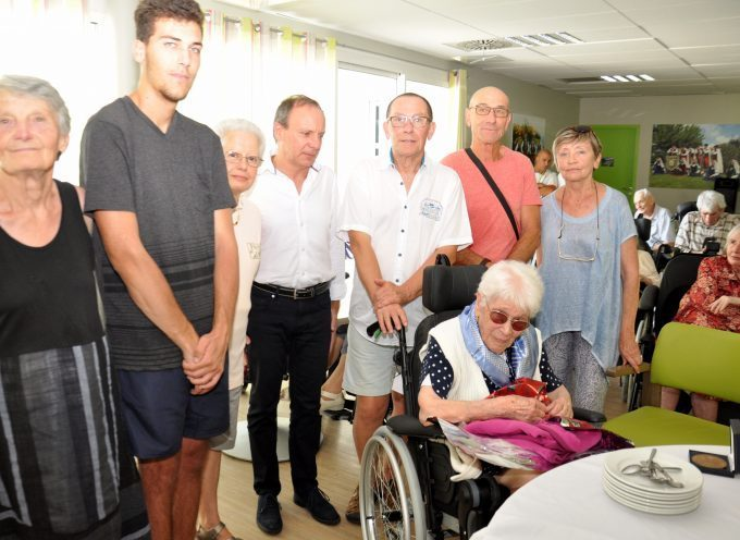 Montréjeau : Une centenaire à l'Ehpad du Mont Royal
