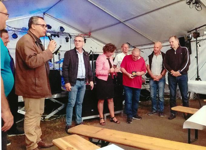 Carbonne : Médaille de la ville pour Gérard Soula