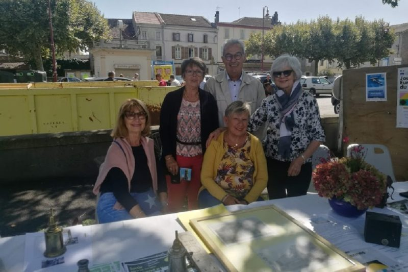Les Amis du Patrimoine ont participé au forum des associations