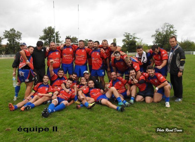 Rugby XV : Double succès à l'extérieur pour l'UCF