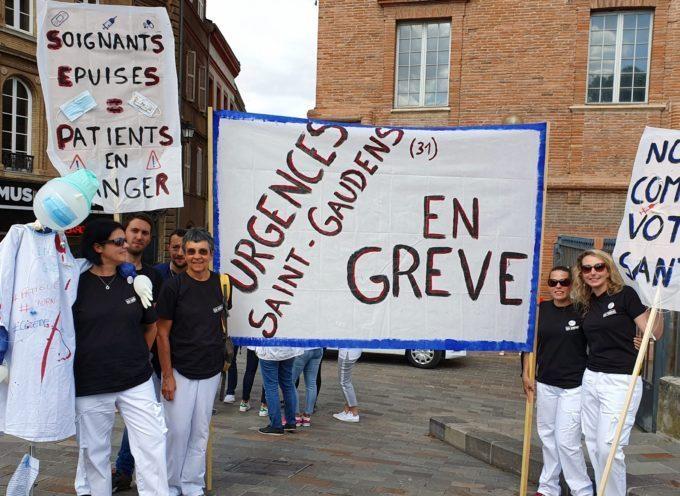 Saint-Gaudens  Urgences : toujours mobilisés !