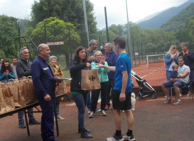 Le tournoi de tennis d'Aspet a connu un très vif succés