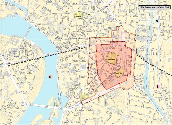 Restriction de circulation et de stationnement à Toulouse