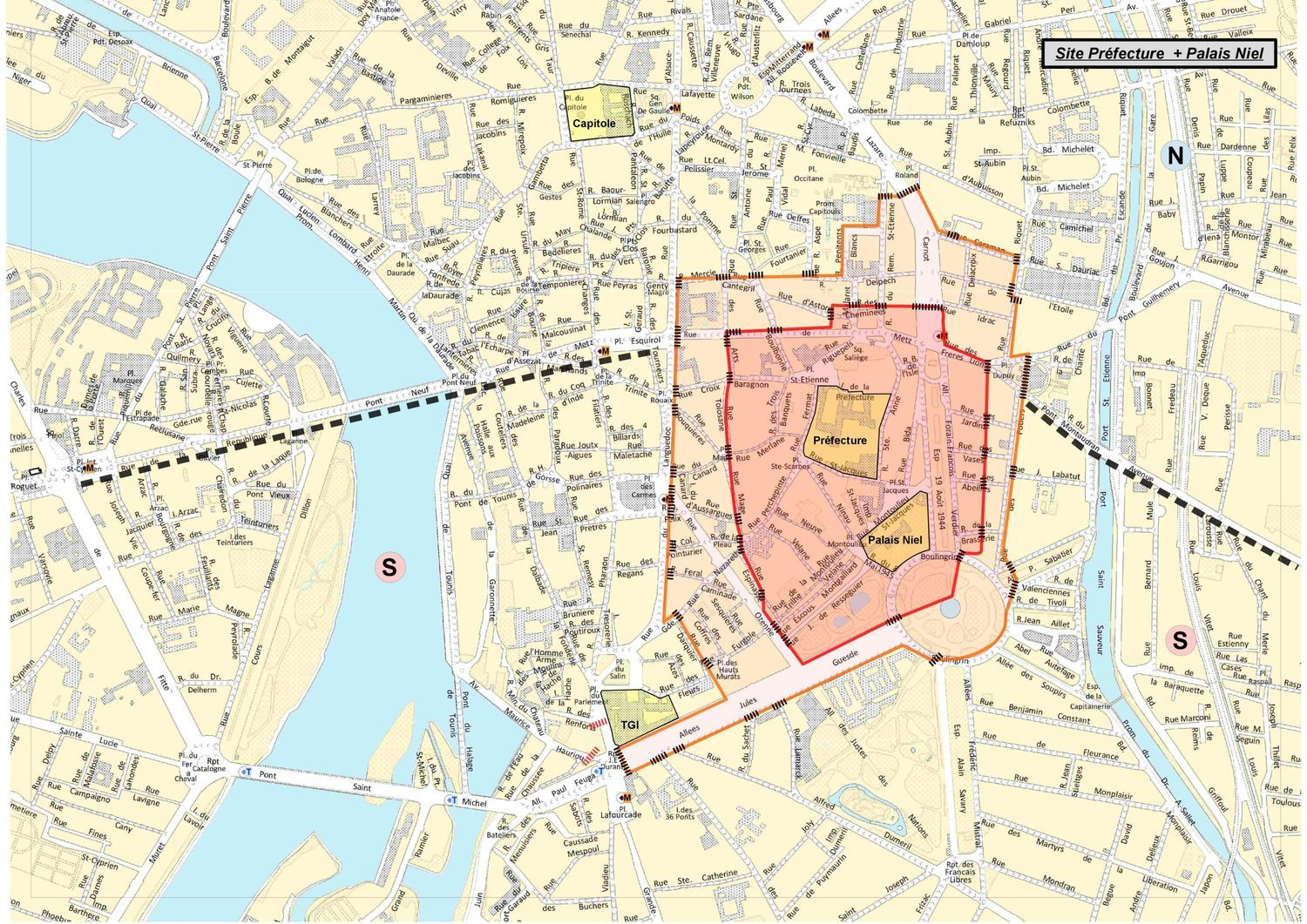 Atelier De L Echarpe Toulouse restriction de circulation et de stationnement à toulouse