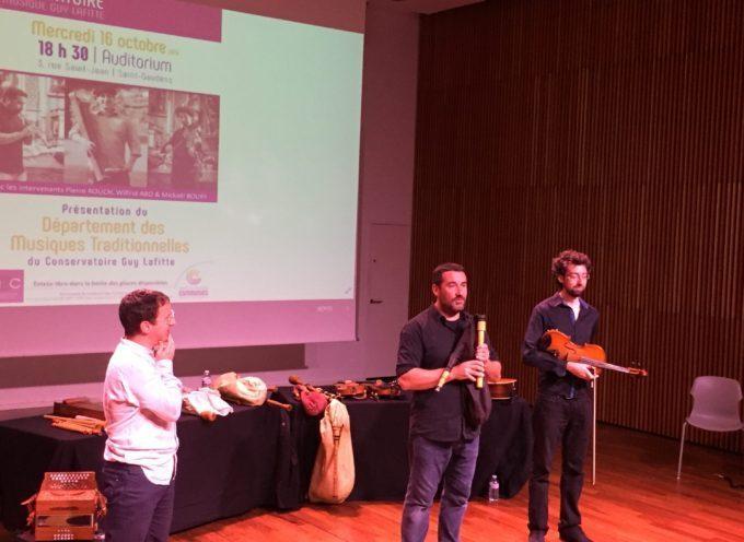 Comminges : Les Musiques Traditionnelles au Conservatoire Guy Lafitte, c'est parti !