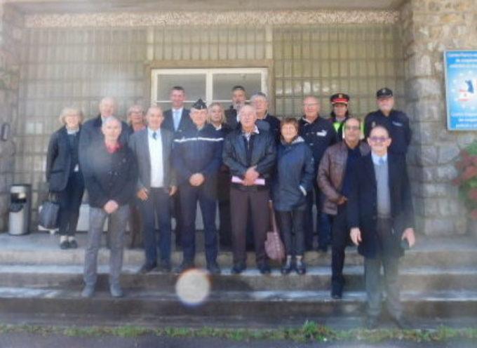 Les Médaillés Militaires visitent le Centre de Coopération Police et Douanières (CCPD) Franco-Espagnol à MELLES-PONT-DU-ROY