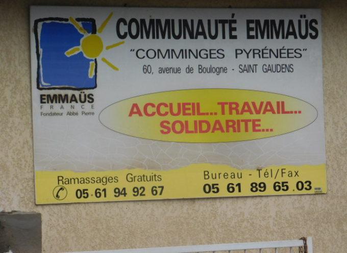 Emmaüs Saint-Gaudens participe à l'économie durable