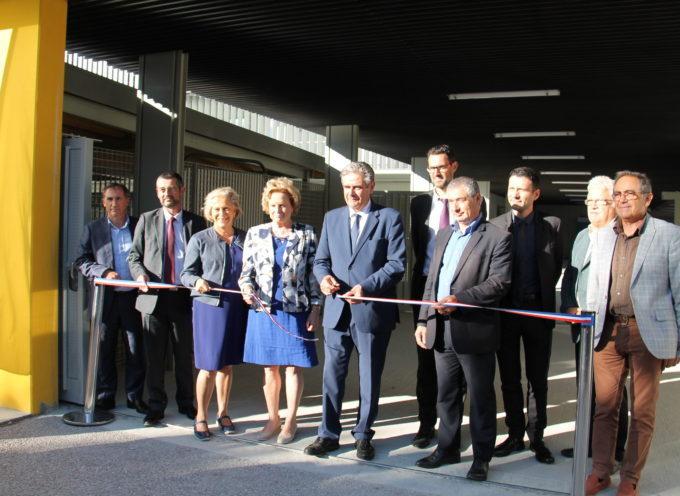 Le nouveau collège Louisa Paulin inauguré