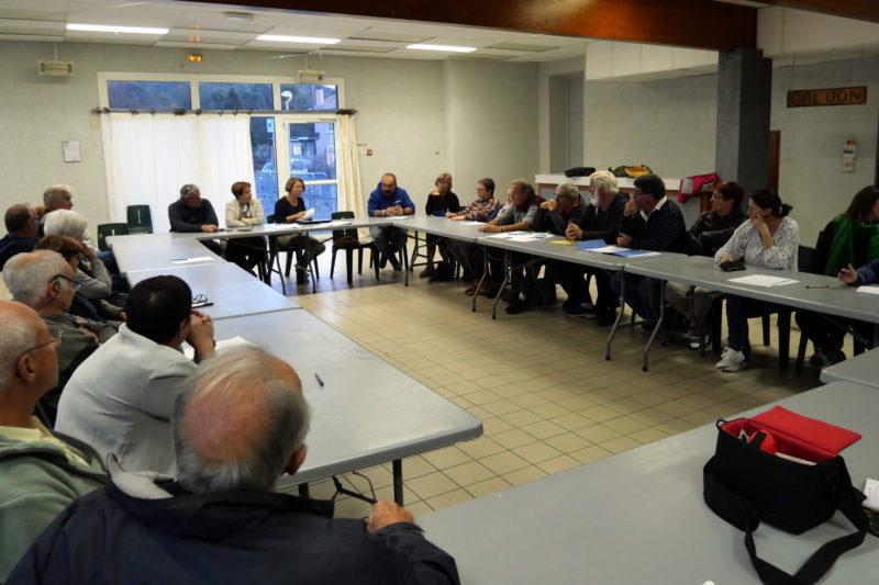 La première réunion du collectif