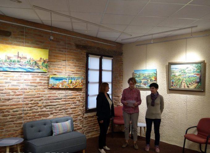 Spécialiste de la couleur, Denise Aimon expose à Rieux Volvestre.