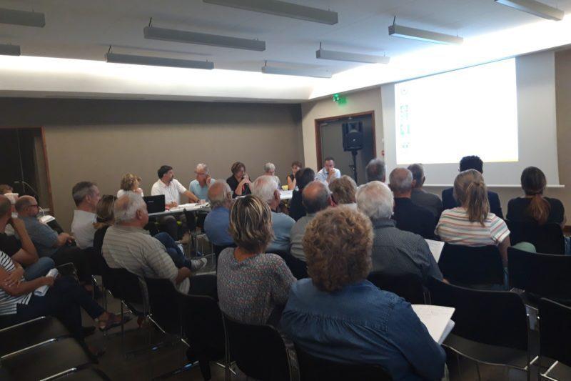 Les réunions du conseil communautaire sont ouvertes au public.