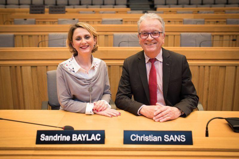 Sandrine Baylac et Christian Sans