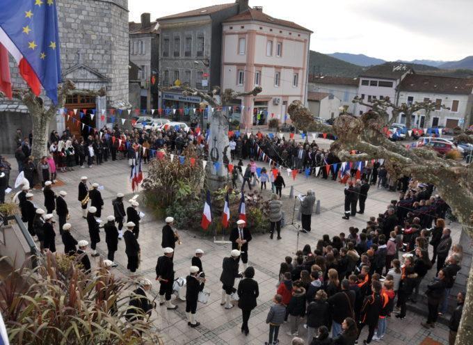 Cérémonies commémorant l'armistice du 11 novembre 1918