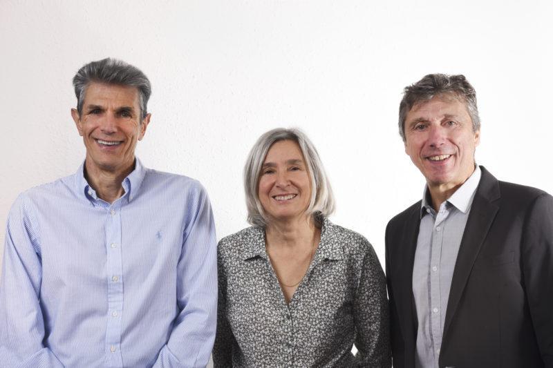 Gérard Subercaze, JP Ladrix, Cécile Percie du Sert
