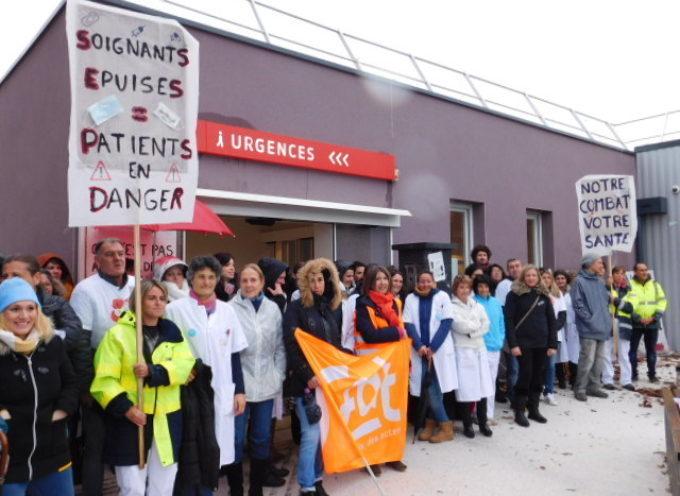 L'hôpital de Saint-Gaudens en grève