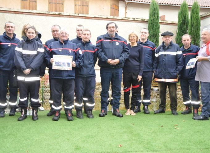 Saint Plancard : La tradition chez les pompiers