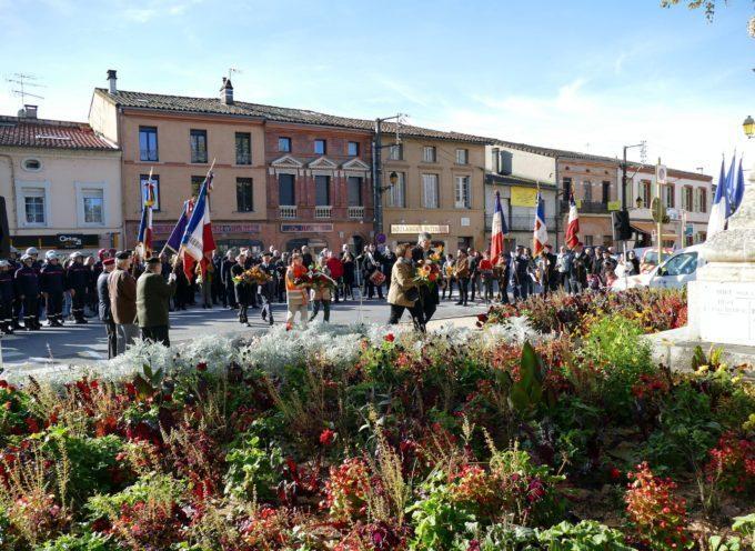 Commémoration de l'armistice de 14/18