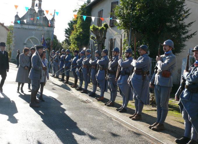 La démobilisation à Montespan – Commémoration de l'Armistice