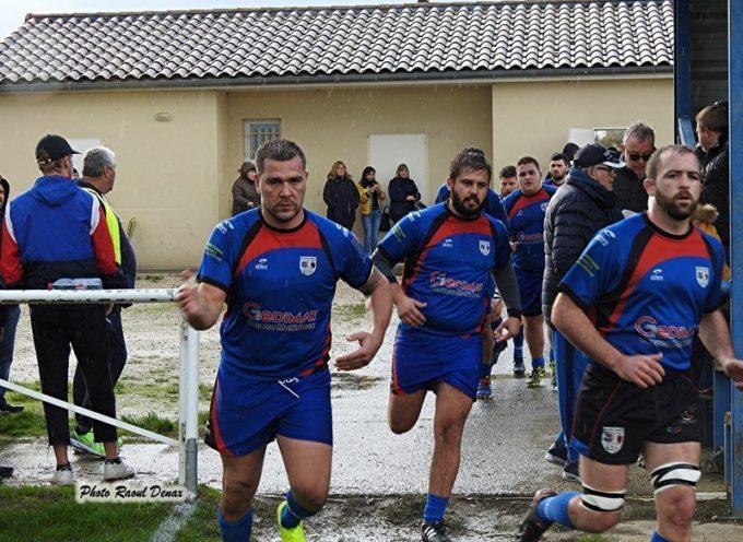 Rugby XV : L'UCF chante sous la pluie