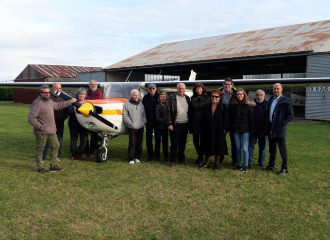 Clarac : Un nouvel avion pour l'aéro-club du Comminges
