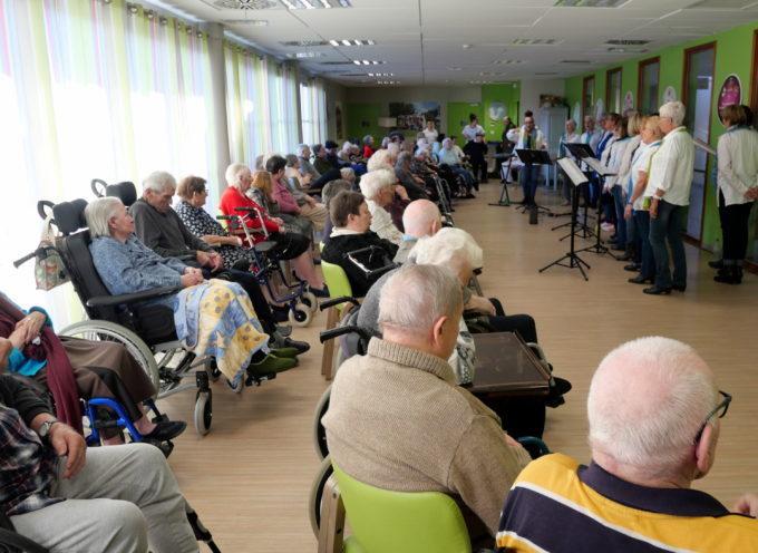 Montréjeau : Une chorale pour les résidents de l'Ehpad du Mont Royal