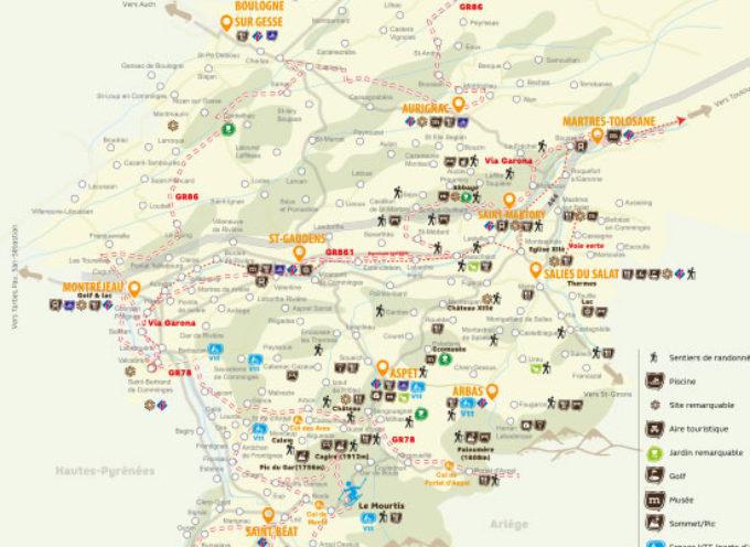 La première carte touristique du Comminges est arrivée