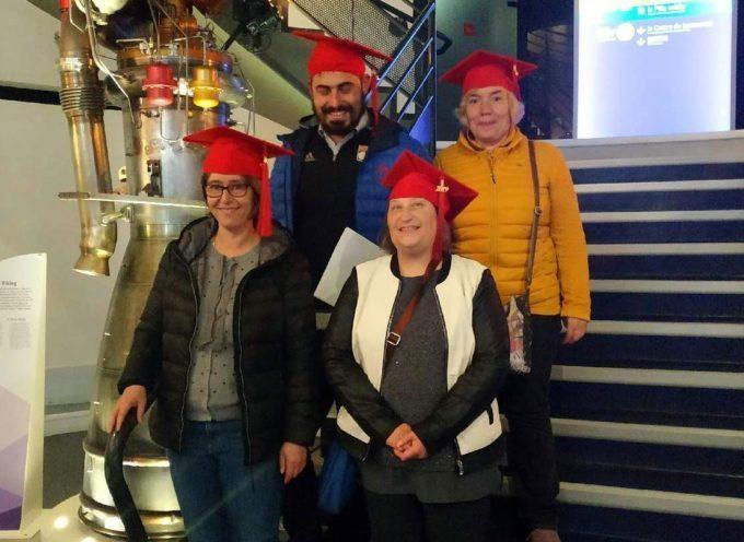 Quatre travailleurs de l'ESAT le Ruisselet, à l'honneur à la Cité de l'Espace de Toulouse