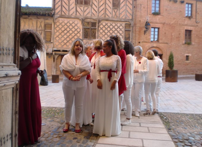 Après M6, DeeDeeDaniel et sa chorale Walk font un triomphe à Rieux Volvestre