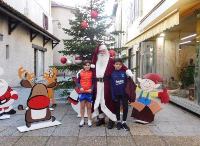 Le Père Noël est arrivé à Saint-Gaudens