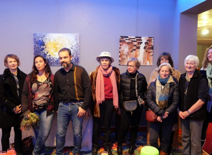 Barbazan : Exposition à quatre mains