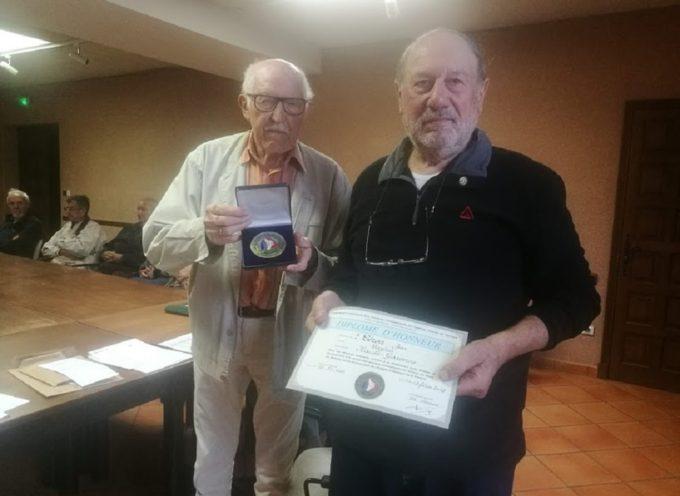 Jean Céron a reçu la médaille du Comité de la FNACA de Cazères
